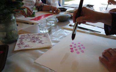 Maling med kunstmaler