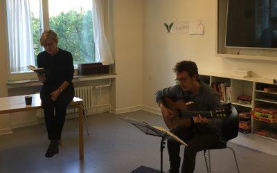 Syng med kulturminister Mette Bock