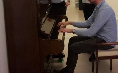 Fra et hjem med klaver