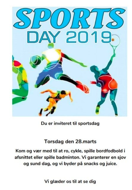 Sportsdag 2019