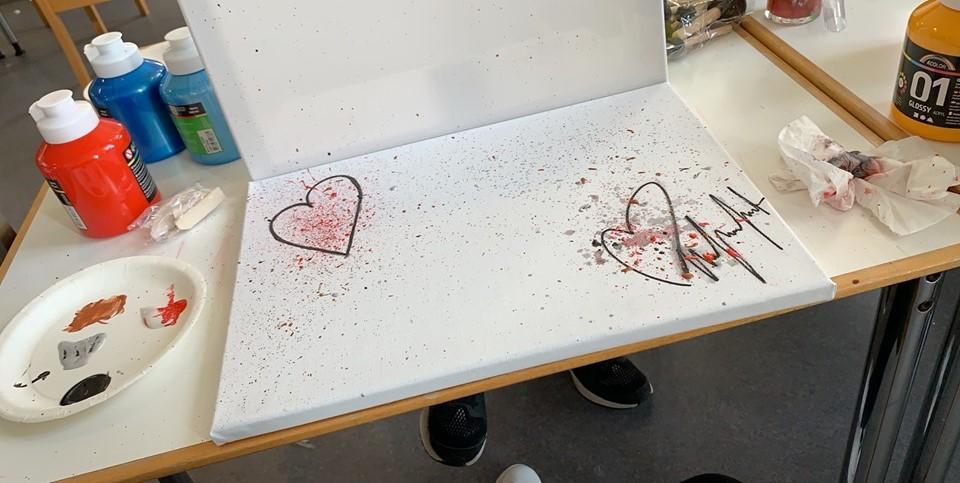 Kedelige dage kan bruges til maling