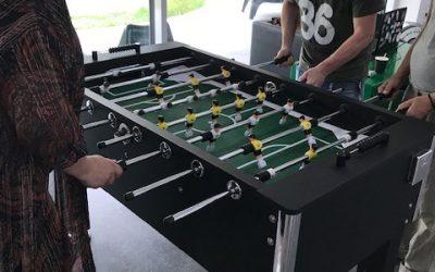 Bordfodbold som rammen om socialt samvær