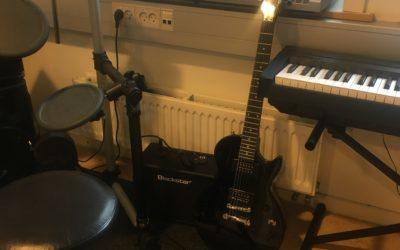 Ny lyd i musikterapilokalet