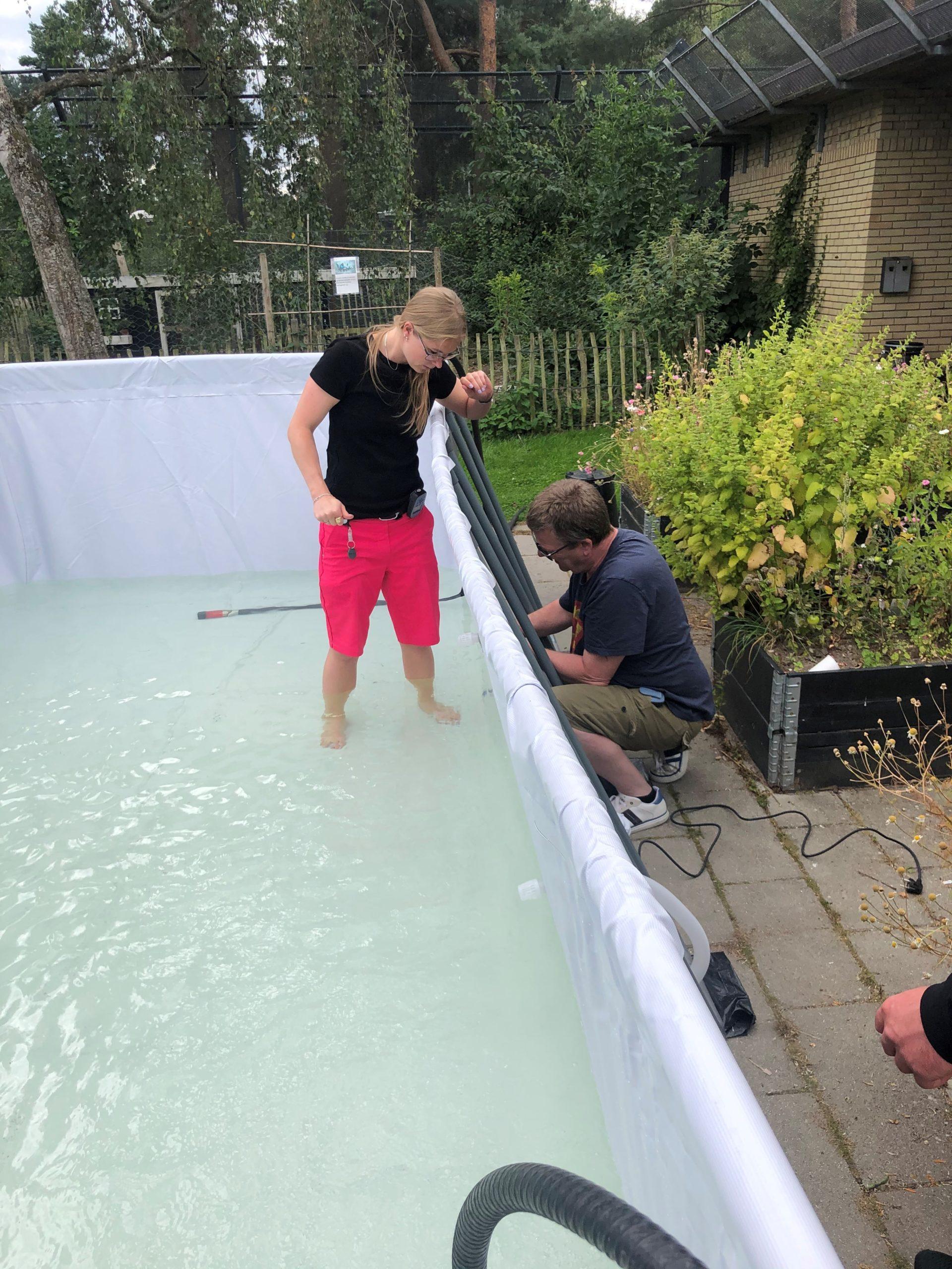 Håb i Psykiatrien badebassin pool Glostrup