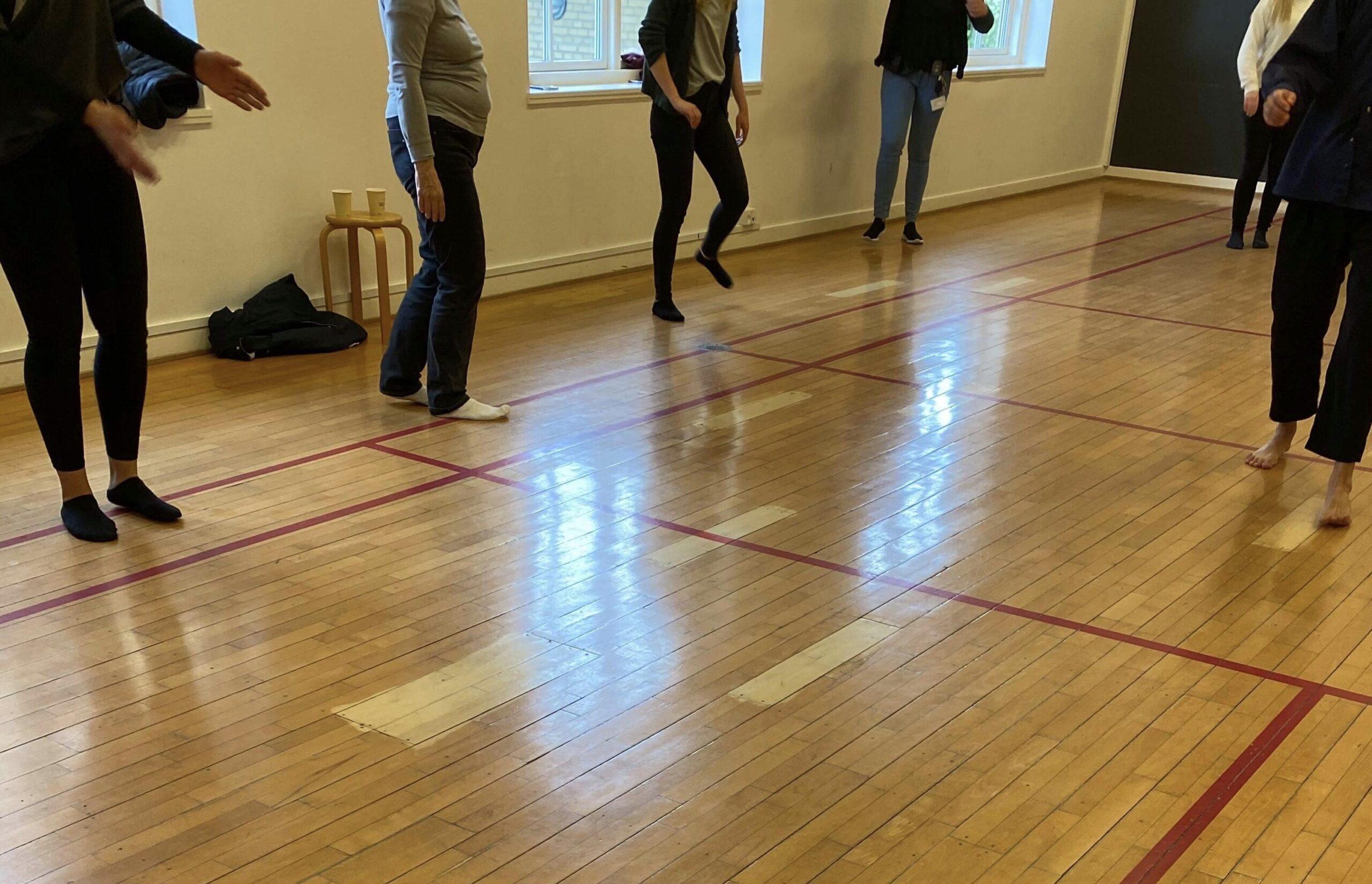 håb i psykiatrien danseworkshop psykiatrisk afd Ø2 Roskilde