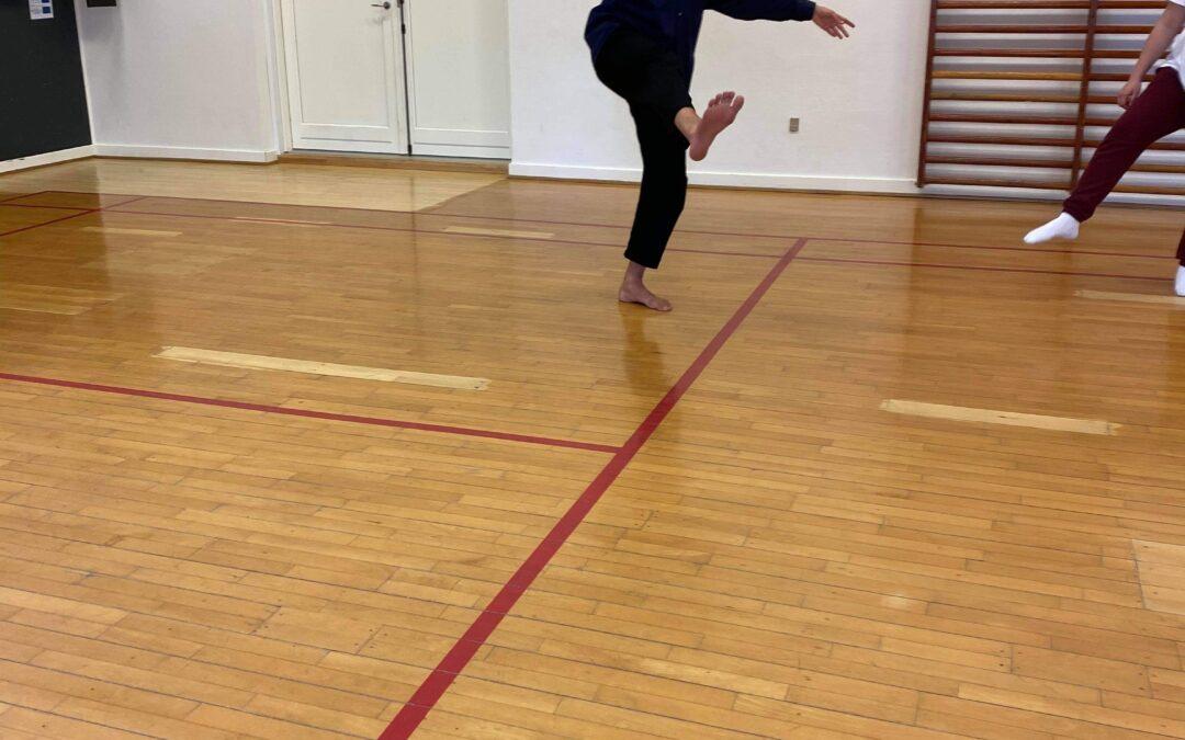 Danseworkshop spreder glæde